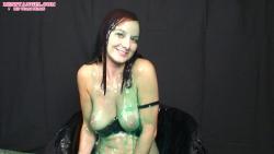 brunette_slimed_green_gunge_014